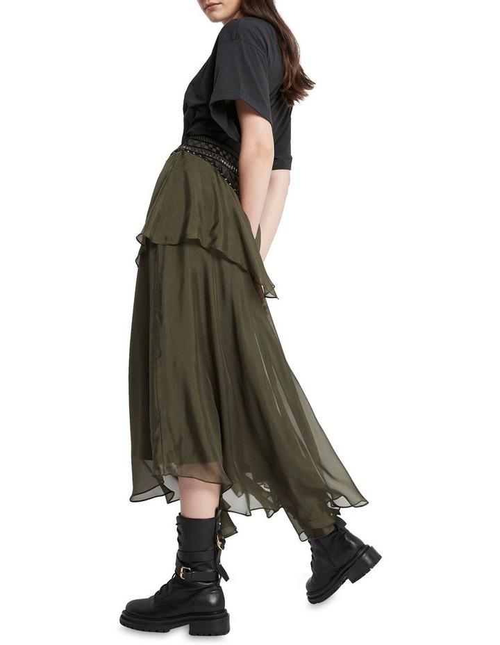 Memories Of Us Midi Skirt Olive image 3