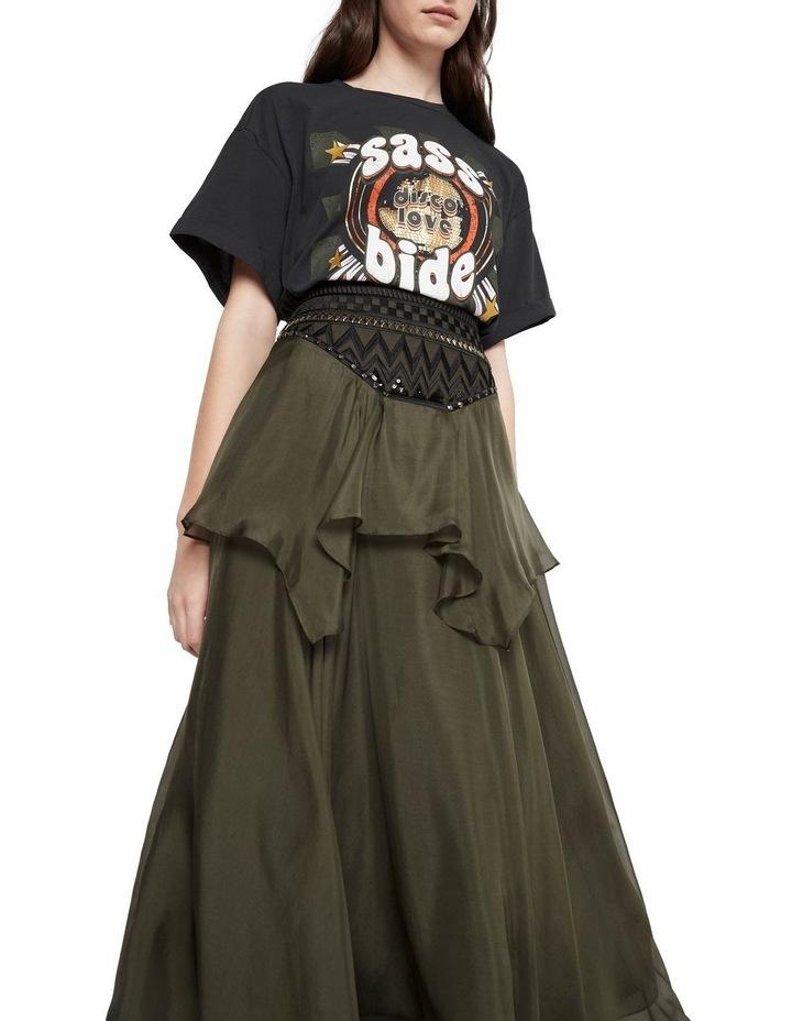 Memories Of Us Midi Skirt Olive image 4