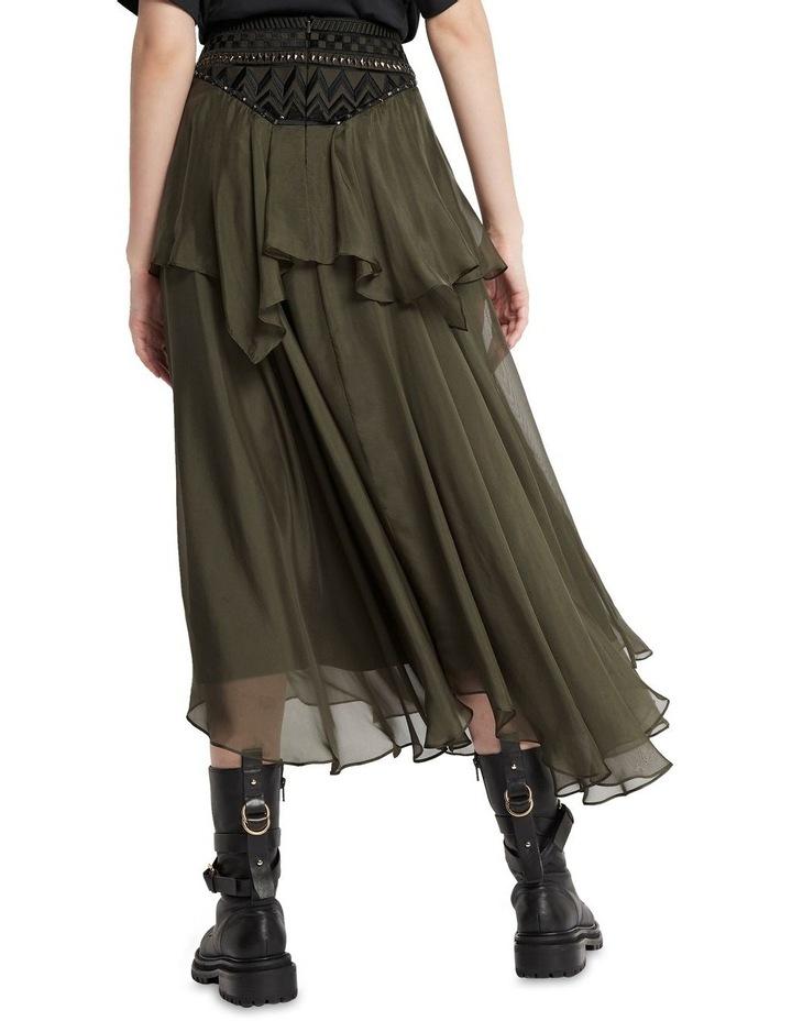 Memories Of Us Midi Skirt Olive image 5