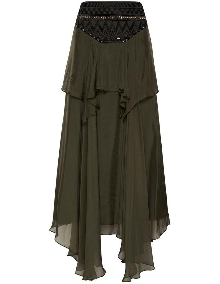 Memories Of Us Midi Skirt Olive image 6
