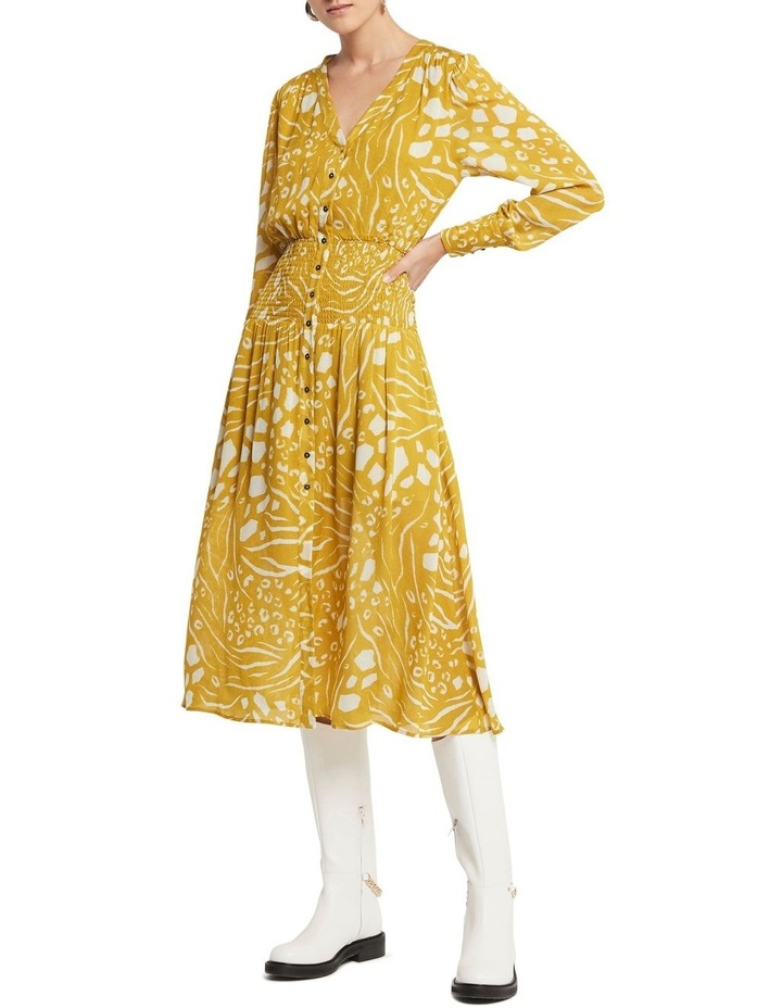 Another Lover Midi Dress Print image 1