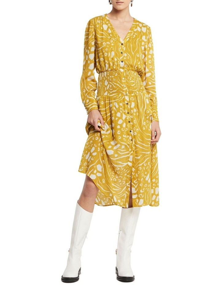 Another Lover Midi Dress Print image 2