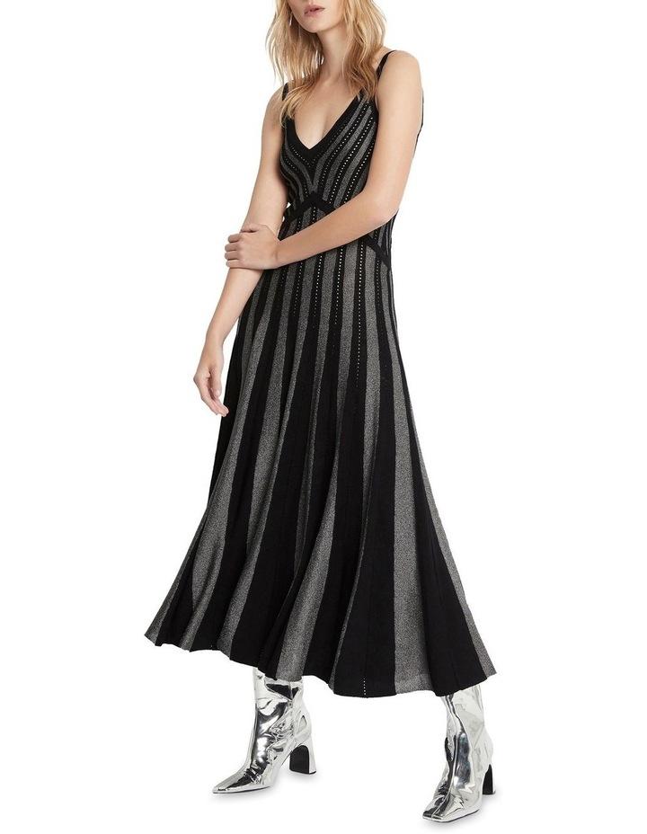Endless Dance Knit Dress Black image 2