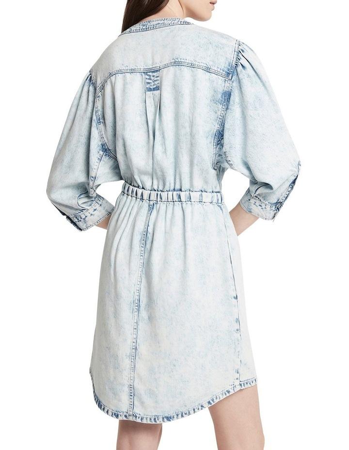 Retro Revival Denim Dress Washed Indigo image 5