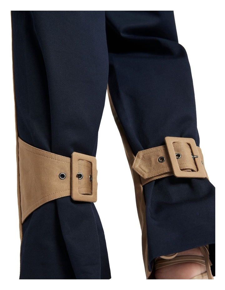 New Flame Trouser Pant Tan and Navy image 5