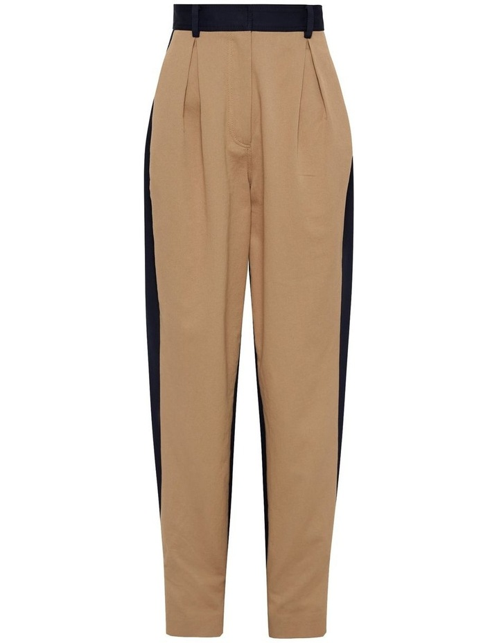 New Flame Trouser Pant Tan and Navy image 6