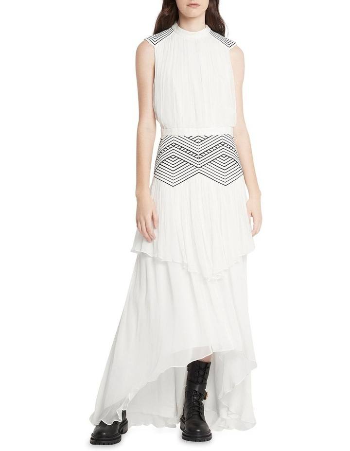 Believe In Magic Midi Gown Ivory image 1