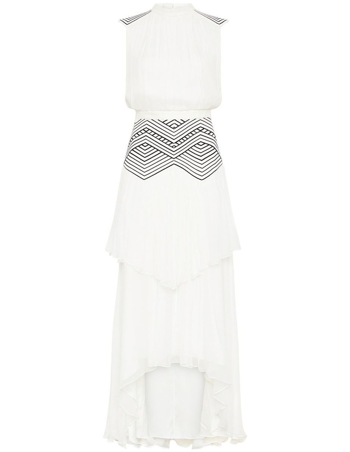 Believe In Magic Midi Gown Ivory image 6