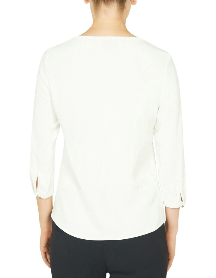 3/4 Sleeve Swing Top image 3