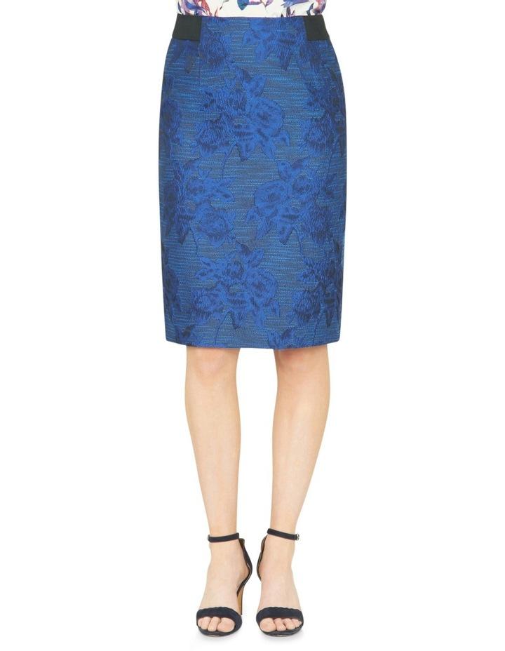 Avalyn Jacquard Pencil Skirt image 1