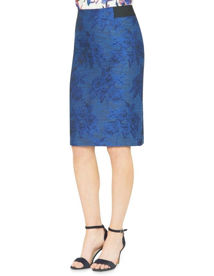 Avalyn Jacquard Pencil Skirt image 2