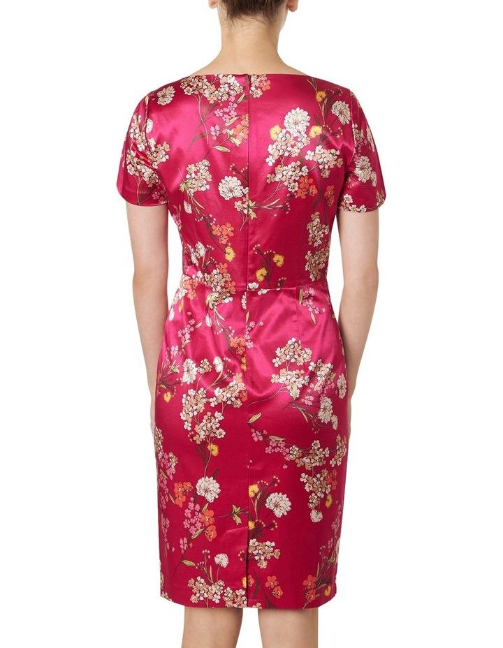 Orient Print Satin Dress image 3