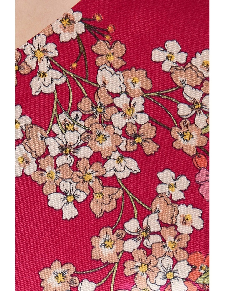 Orient Print Satin Dress image 4