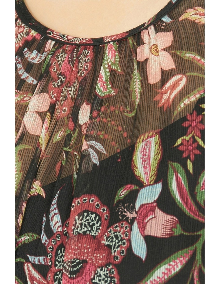 Floral Print Sheer Blouse image 4