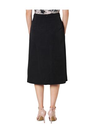 David Lawrence - Ottoman Midi Skirt