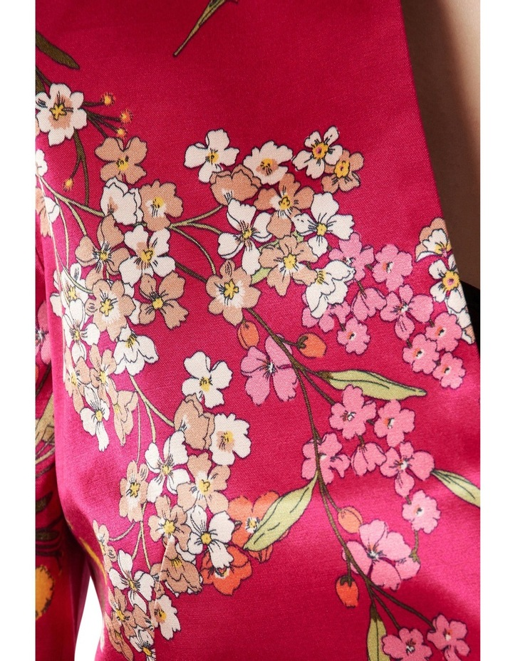 Orient Print Satin Jacket image 4