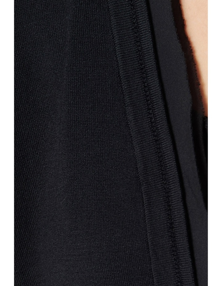 Silk Trim Cropped Cardigan image 4