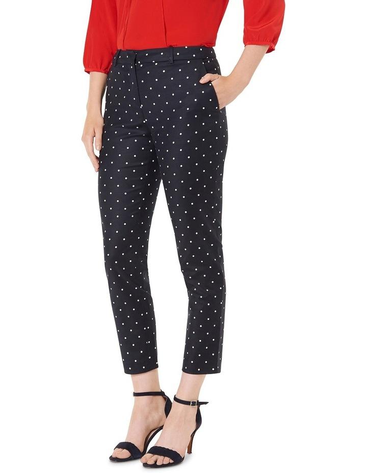 Polka-dot Print 7/8 Pants image 2