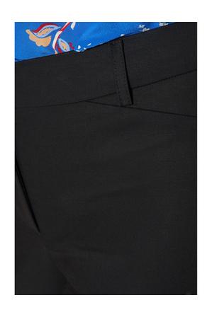 David Lawrence - Sophia Cropped Compact Cotton Pants