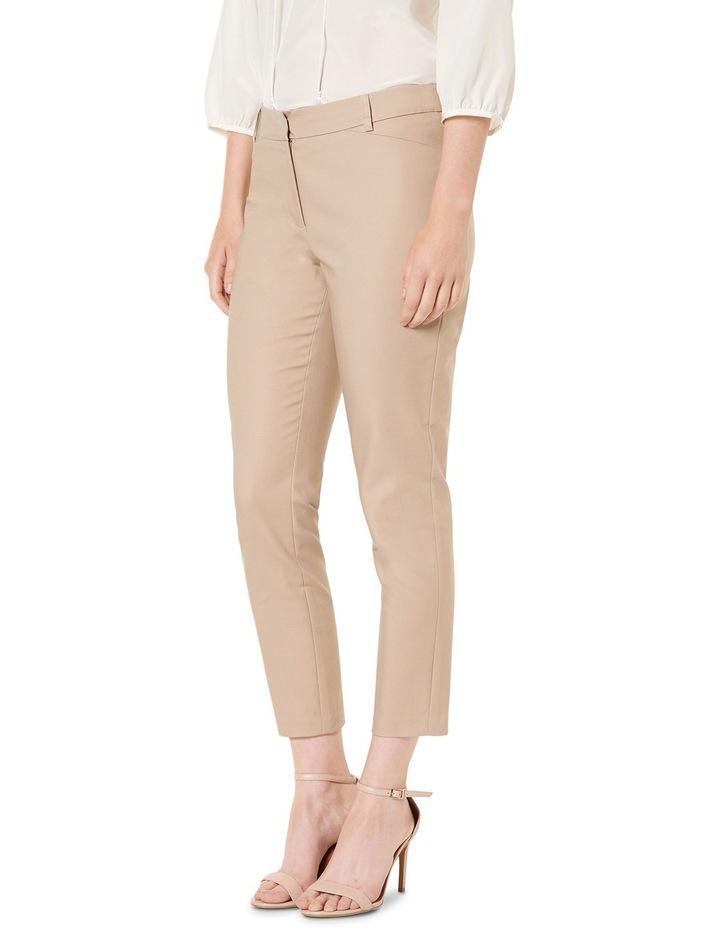 Sophia Cropped Compact Cotton Pants image 2