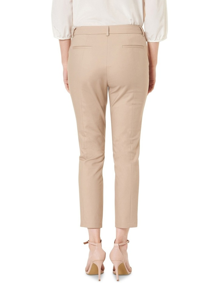 Sophia Cropped Compact Cotton Pants image 3