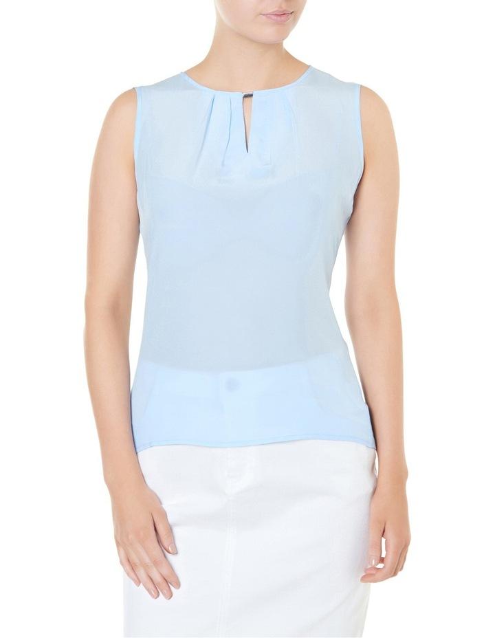 Bree Silk Jersey Sleeveless Top image 1