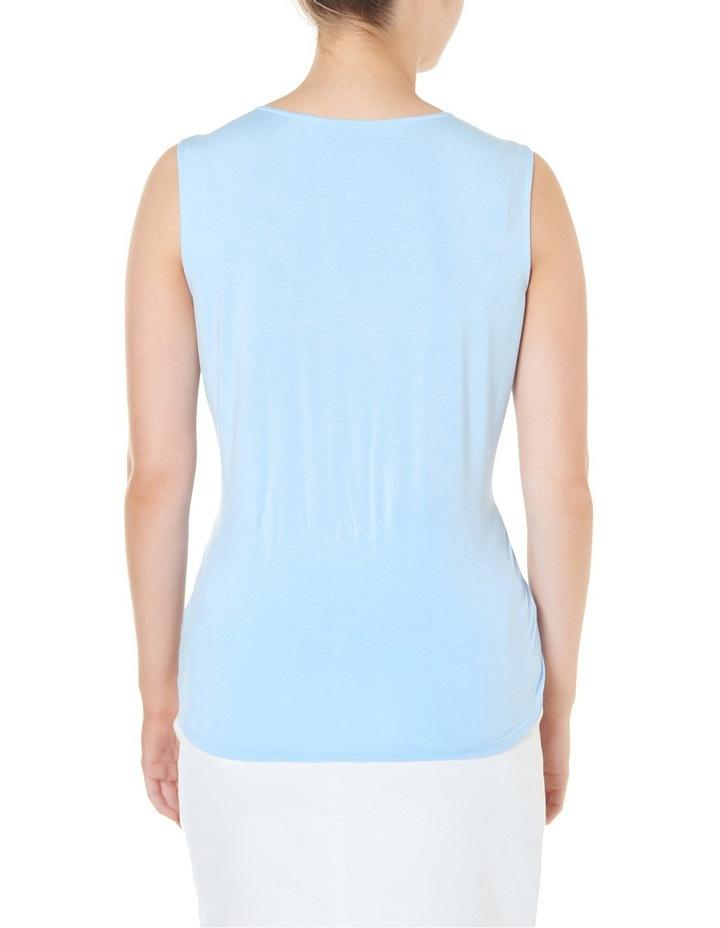 Bree Silk Jersey Sleeveless Top image 3