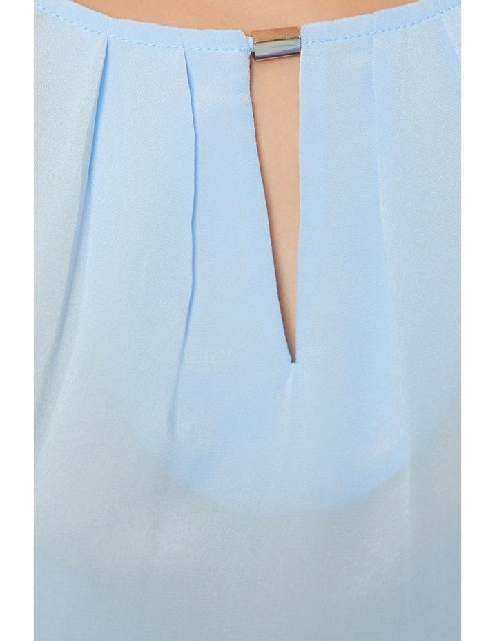 Bree Silk Jersey Sleeveless Top image 4