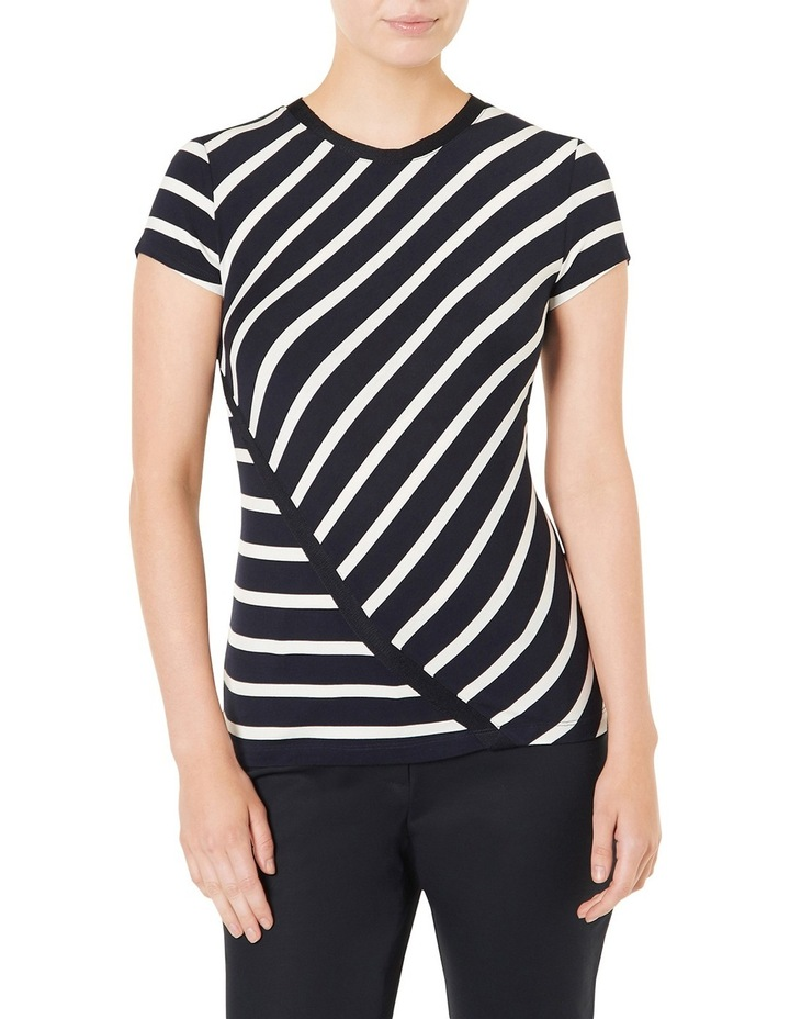 Cut About Stripe Jersey Top image 1