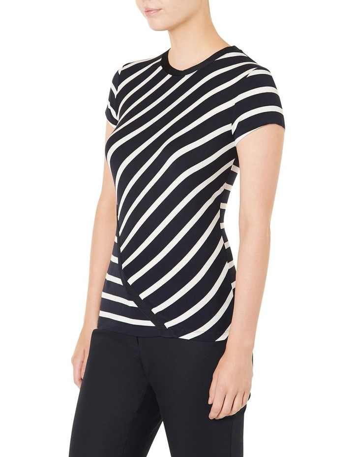 Cut About Stripe Jersey Top image 2