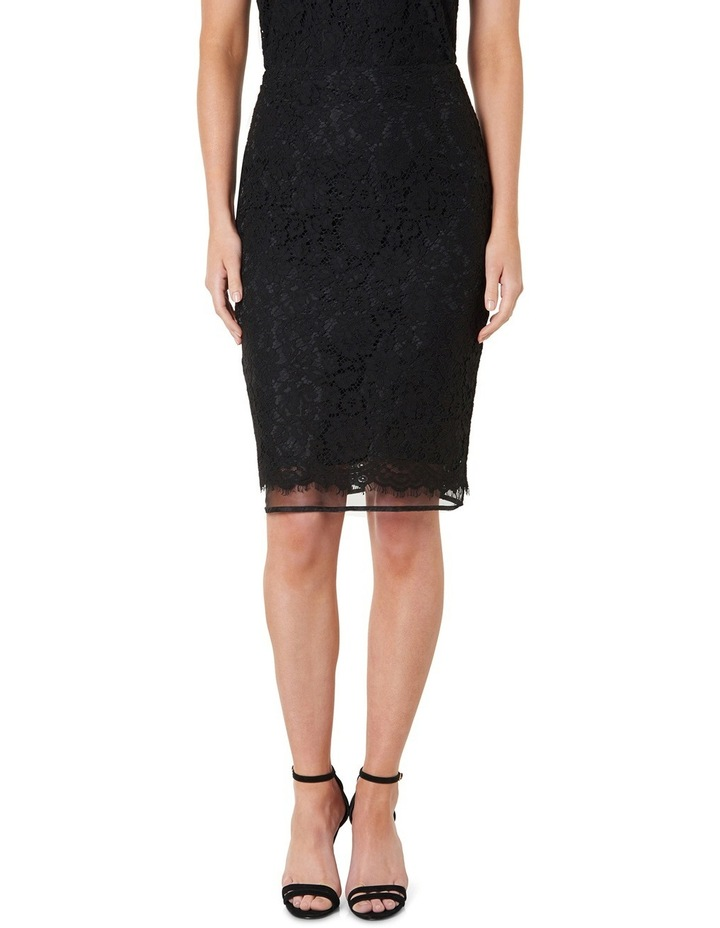 Octavia Double Layer Lace Pencil Skirt image 1