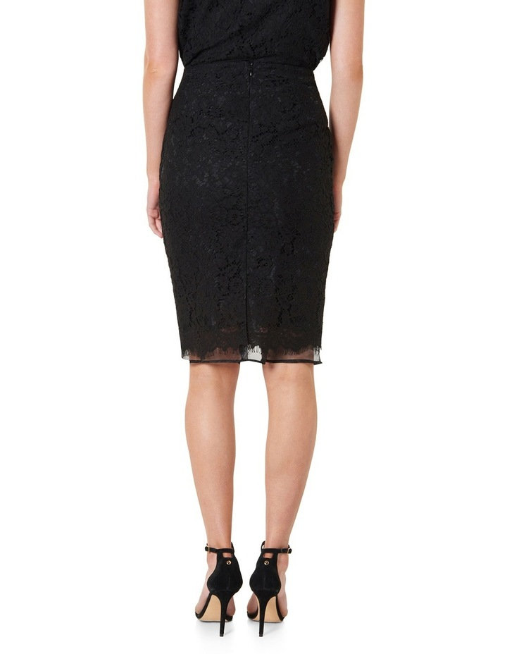Octavia Double Layer Lace Pencil Skirt image 3