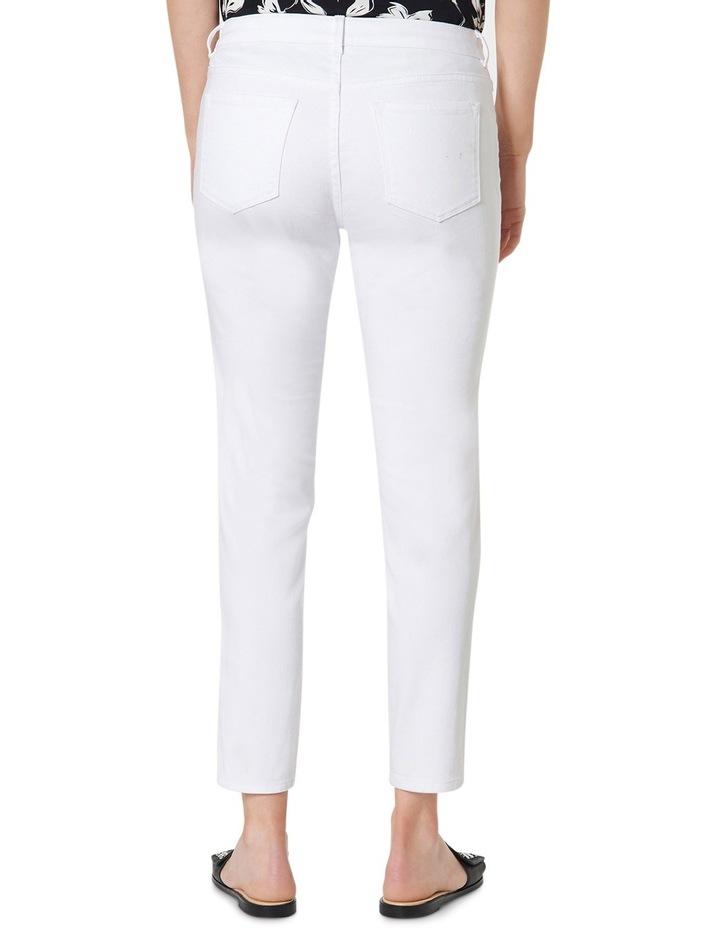 7/8th White Skinny Jean image 3