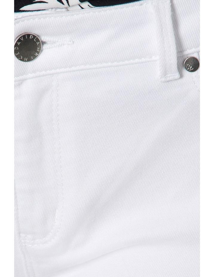 7/8th White Skinny Jean image 4
