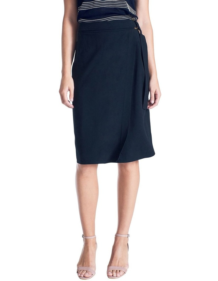 Wrap Belted Skirt image 1