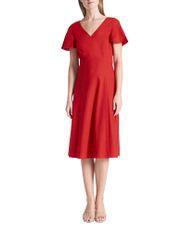 Ruby Linen Dress