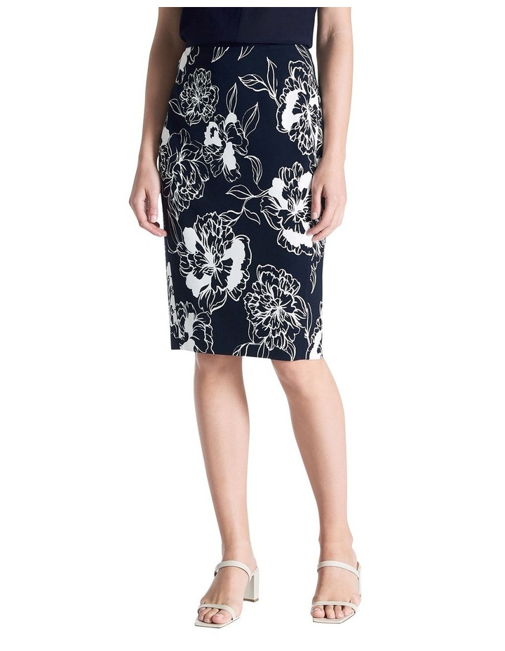 Lucca Printed Pencil Skirt image 1