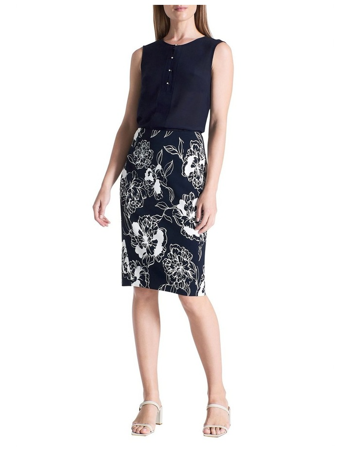 Lucca Printed Pencil Skirt image 2