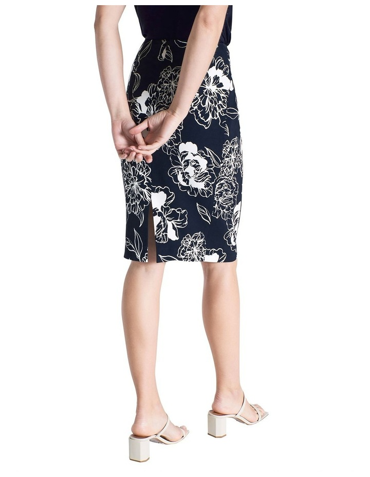 Lucca Printed Pencil Skirt image 4