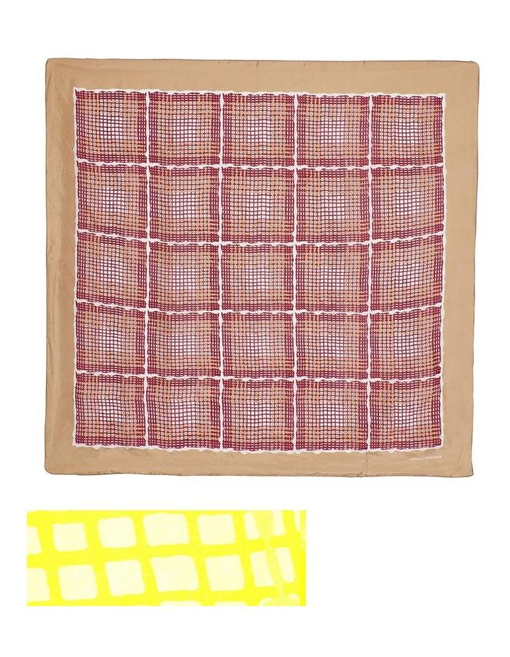 Check Silk Scarf image 3