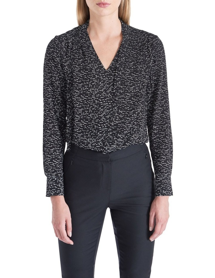 Textured Speckle Blouse image 1