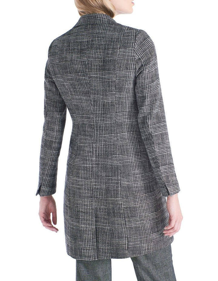 9931444be103 David Lawrence | Prince Of Wales Check Coat | MYER