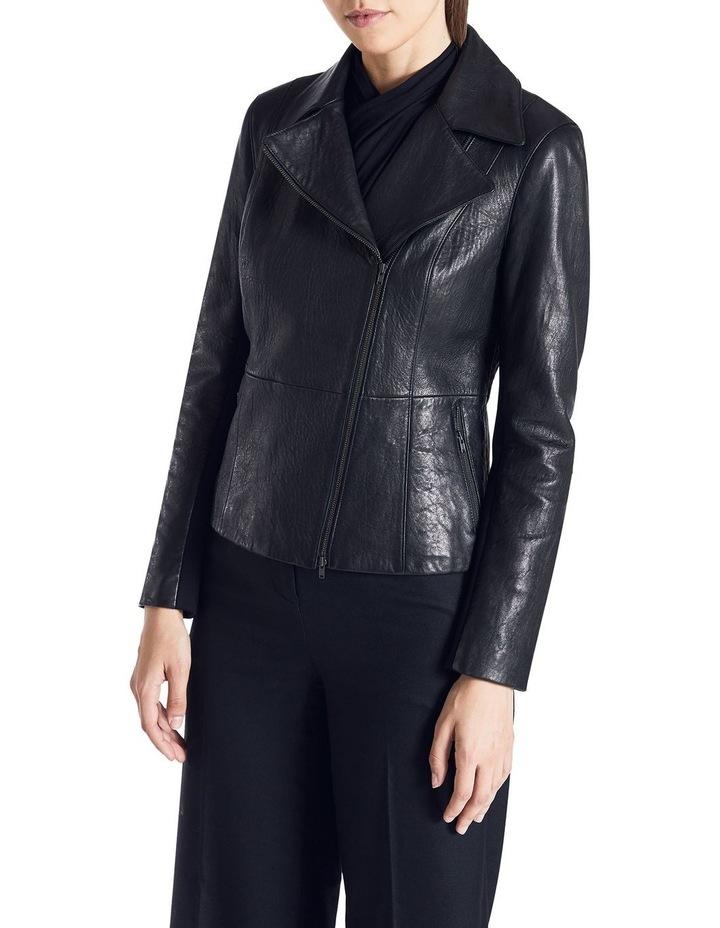 Lottie Leather Biker Jacket image 1