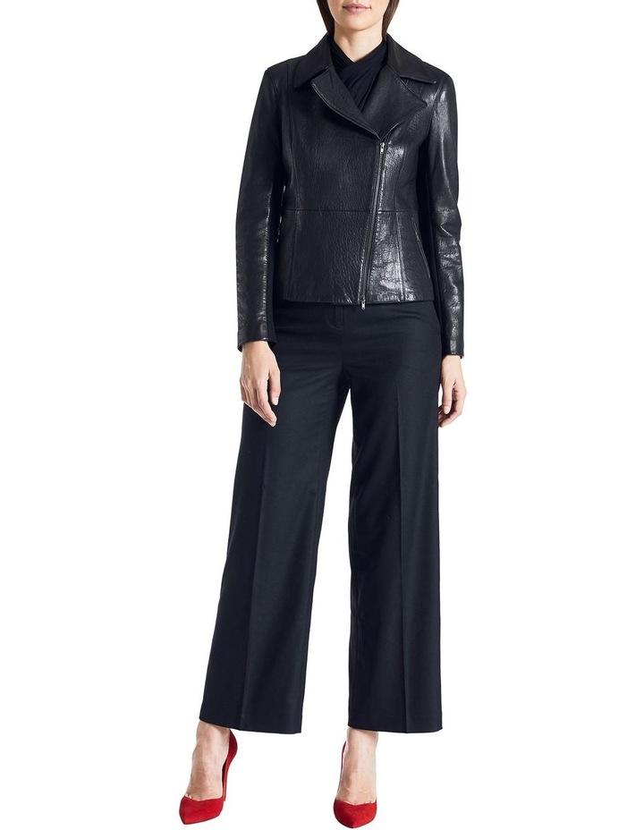 Lottie Leather Biker Jacket image 2