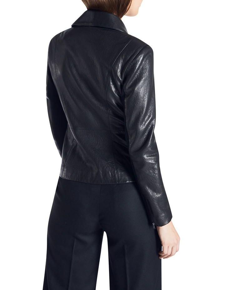 Lottie Leather Biker Jacket image 4
