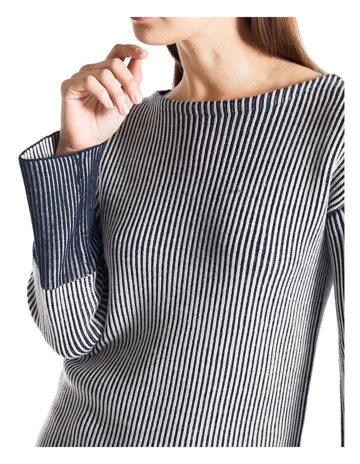 Stripe Knit Jumper image 3