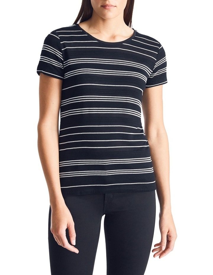 Textured Stripe Tee image 1