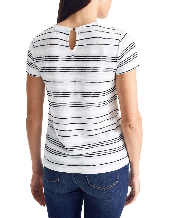 Textured Stripe Tee image 4