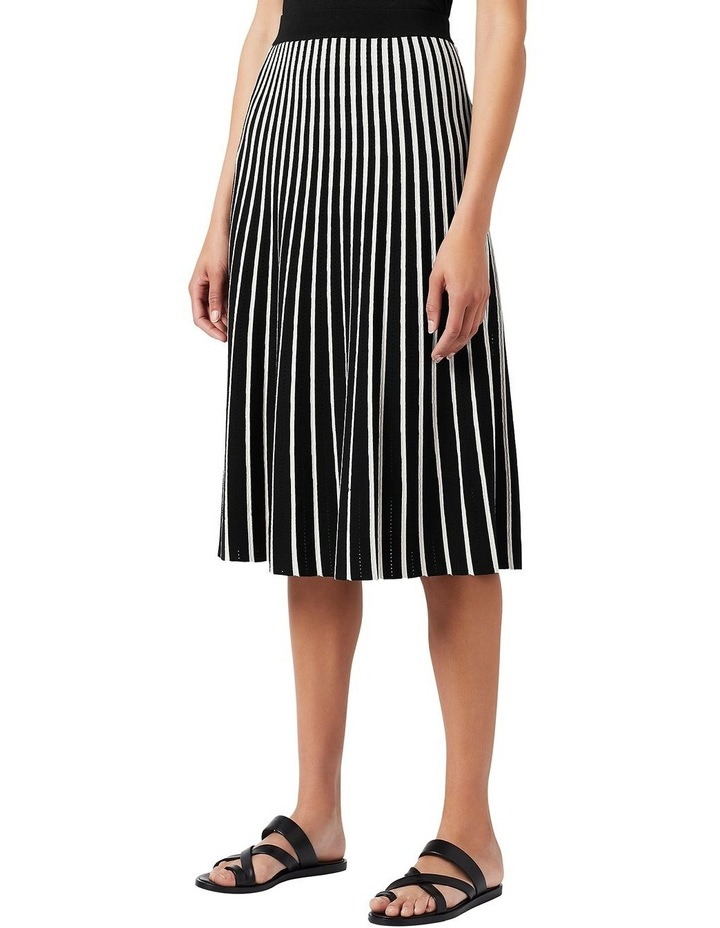Knit Pleated Skirt image 1