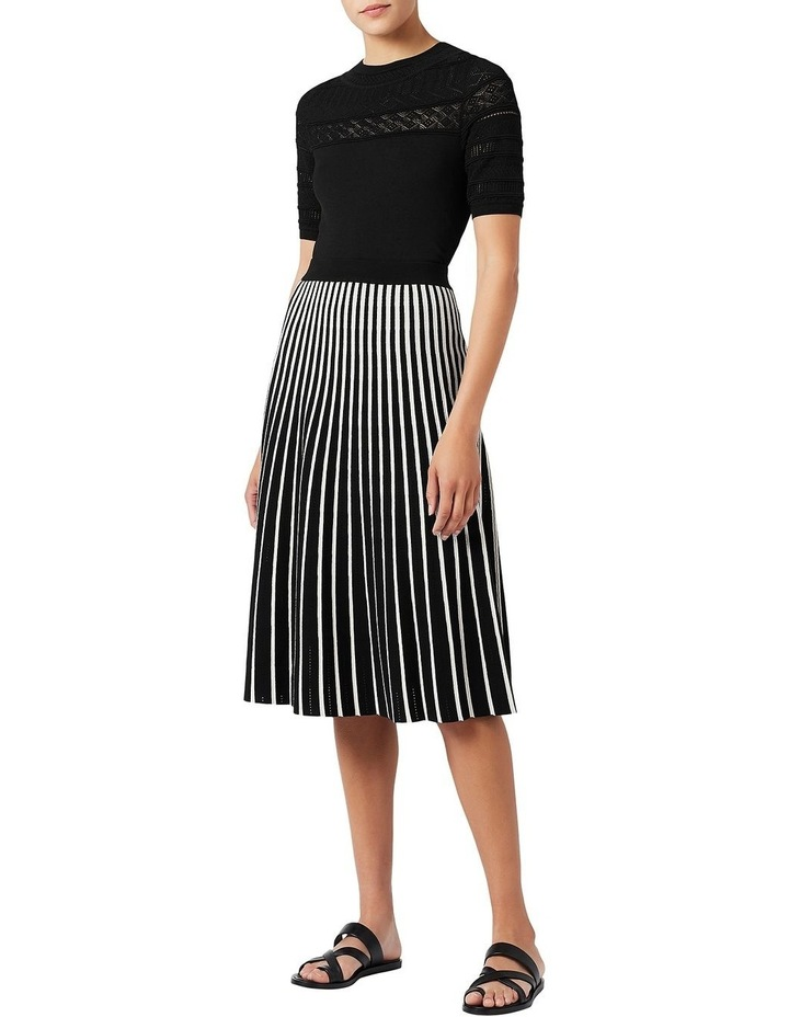 Knit Pleated Skirt image 2